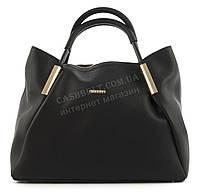 Вместительная стильная прочная модная качественная женская сумка B.ELITart. 07-34черная структурная