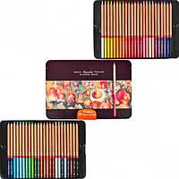 Цветные карандаши Marco Fine Art-48TN 48 цветов в металлическом пенале кедр
