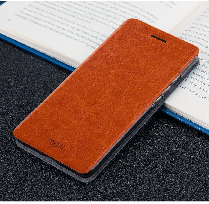 Mofi LeEco Coolpad Cool 1 leather Brown case Кожанный Чехол Книжка