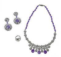 Набор игрушечных украшений для девочки с фиолетовыми камушками, Sl Girls, Simba