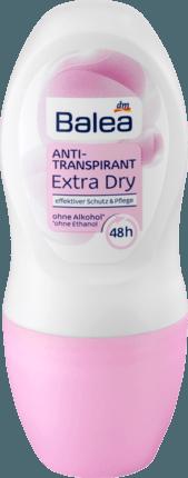 Антипреспирант роликовый Balea Anti-Transpirant Extra Dry 48hr 50 ml (Германия)