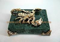 Статуэтка бронзовый Скорпион, эксклюзивный подарок