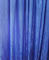 Портьерная ткань Мрамор синий