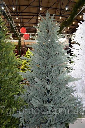 Елка искусственная литая Жозефина голубая 1.8, фото 2