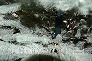 Елка искусственная литая Жозефина голубая 1.8, фото 3