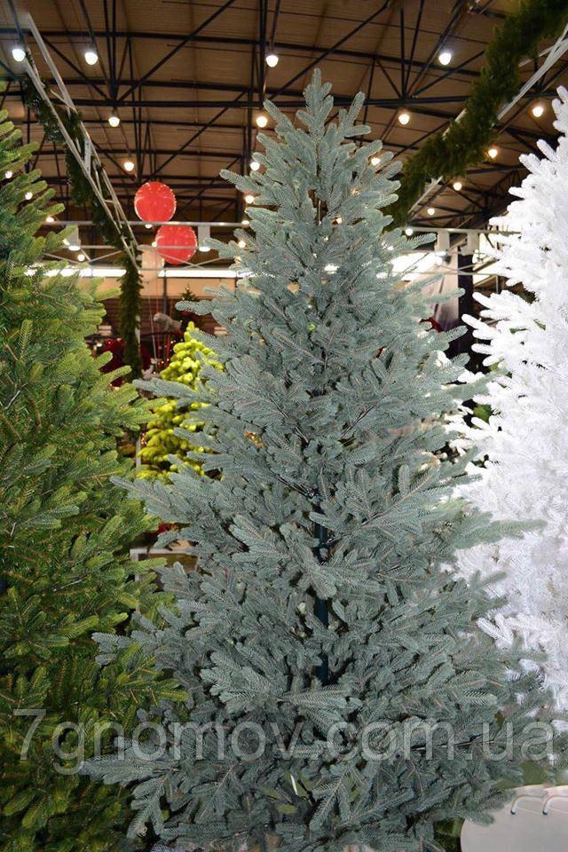 Искусственная елка литая  Жозефина голубая 1.20 - 2.70 метра