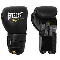 Боксерские перчатки EVERLAST LEATHER PRO3 тренировочные