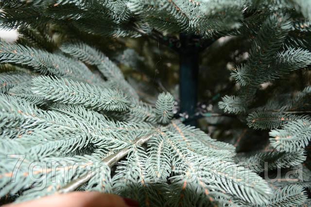 Искусственная елка литая ПРЕМИУМ Жозефина голубая 1.20 - 2.70 метра