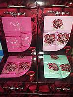 Подарочный набор махровых полотенец 3-ка Турция  Gulcan