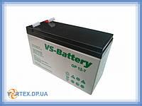 Аккумулятор AGM B 12-7, 12V, 7Ah