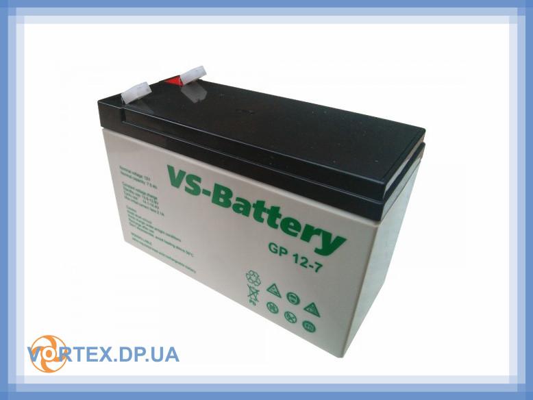 Батарея (Аккумулятор) 12V 7Ah AGM B 12-7 бу