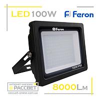 Светодиодный LED прожектор Feron LL-560 100W 108LED 6400K 8000Lm