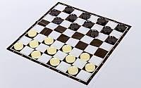 Запасные фигурки для шашек с полотном для игр IG-3103-SHASHKI (пластик, d шашки-2,8см)