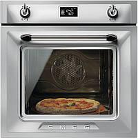 """Многофункциональный духовой шкаф Smeg SFP6925XPZE1 с функцией """"пицца"""""""