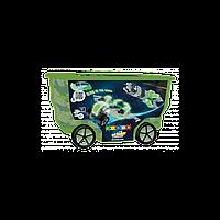 Конструктор детский 400 деталей RollerBox Space Clics CB413
