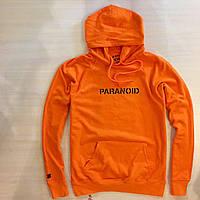 ASSC Paranoid Undefeated • Женская толстовка • Ориг. бирка • Anti Social Social Club оранжевая худи
