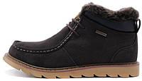 Зимние мужские ботинки Caterpillar Winter Boots Brown с мехом коричневые