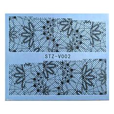 Salon Nails Наклейки водные STZ-V 002
