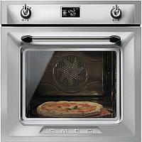 """Многофункциональный духовой шкаф Smeg SF6922XPZE1 с функцией """"пицца"""""""