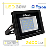 Светодиодный LED прожектор Feron LL-530 30W 28LED 6400K 2400Lm