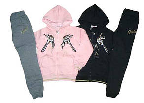 Утеплені костюми для дівчаток ОПТ