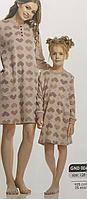 Красивая детская баевая ночная сорочка для девочки рост 128