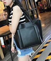 Стильный набор женских сумок 4в1, фото 2