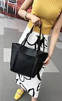 Стильний набір жіночих сумок 4в1, фото 2