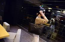 Большая женская сумка под крокодил, фото 2