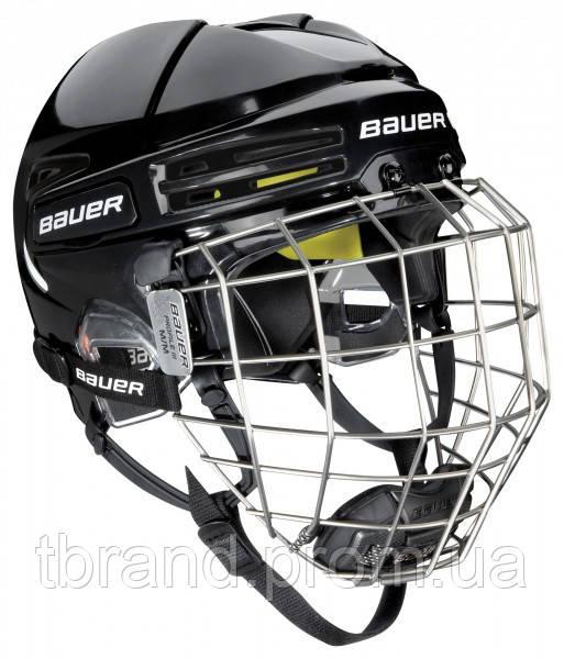 Шлем для хоккея Bauer ReAct 75 черный - MYBAZA в Киеве