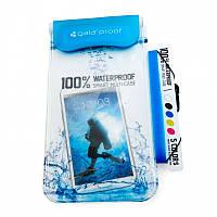 Универсальный Водонепроницаемый Чехол Gala Waterproof (Blue)