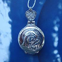 Серебряная подвеска-мощевик с фианитами, фото 2