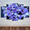 """Модульна картина """"Весняні квіти"""""""