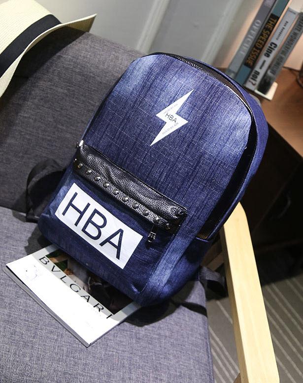 Большой джинсовый рюкзак унисекс Vans, HBA