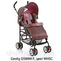 Коляска прогулочная Geoby D388W-F-WHSС