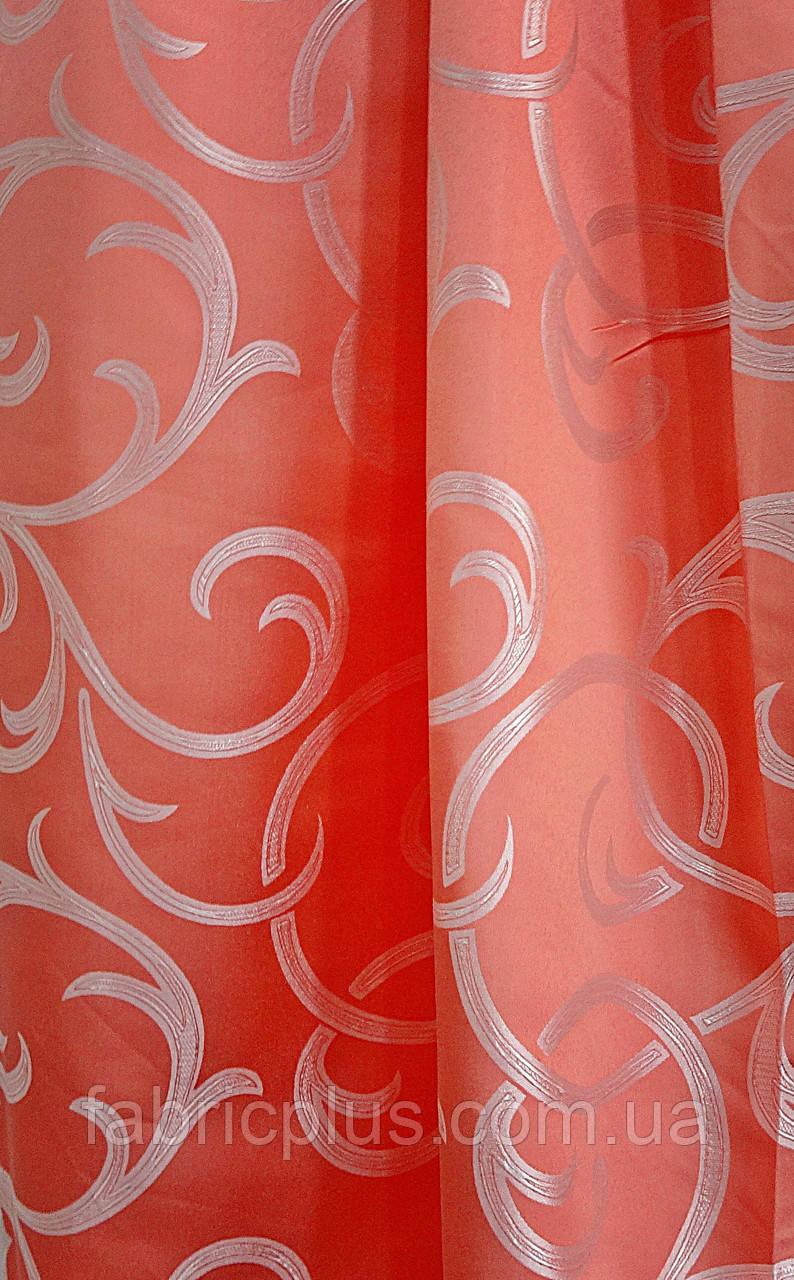 Портьерная ткань роз.