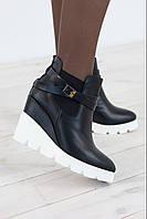 Ботинки женские зимние 1789 кожа/цигейка