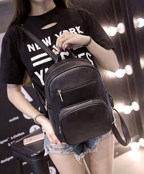 Стильный матовый городской рюкзак , фото 2