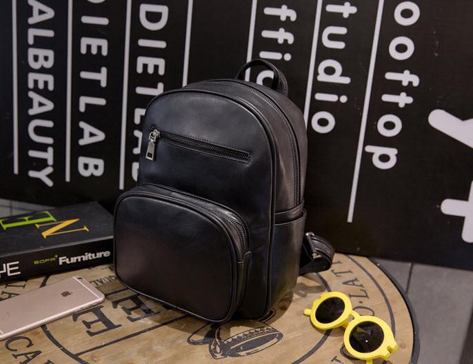 Стильный матовый городской рюкзак