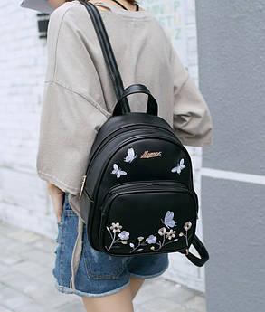 """Нежный городской рюкзак с принтов цветов """"Molli"""", фото 2"""