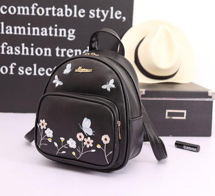 """Нежный городской рюкзак с принтов цветов """"Molli"""""""