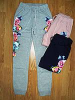Спортивные брюки утепленные на девочку оптом, Glo-story, 134-164 рр