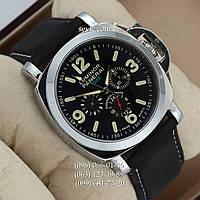 Механические часы с автоподзаводом Panerai Luminor 1000 Silver\Black\White (реплика)