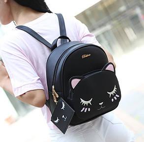 "Рюкзак з мордою сплячого котика ""Belladone"", фото 2"