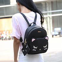 """Рюкзак с мордой спящего котика """"Belladone"""", фото 2"""