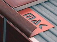 Угол ПВХ для плитки наружный 7,8,9 мм структурный