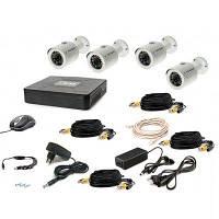 Комплект видеонаблюдения Tecsar 4OUT + HDD 500GB