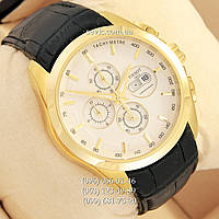 Наручные часы Tissot quartz Chronograph Black/Gold/White (реплика)