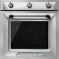Электрический духовой шкаф с паровой очисткой Smeg SF6905X1