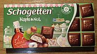 Шоколад Schogetten Maple & Nut, 100г
